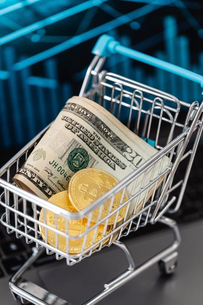 Échanger des crypto-monnaies contre des dollars via une plateforme en ligne